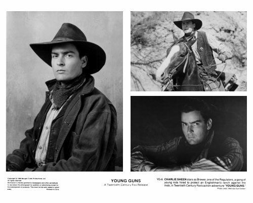 Image result for Young guns charlie sheen horse