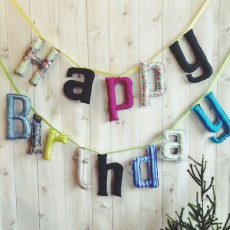 Happy Birthday ガーランド/お誕生日ガーランド