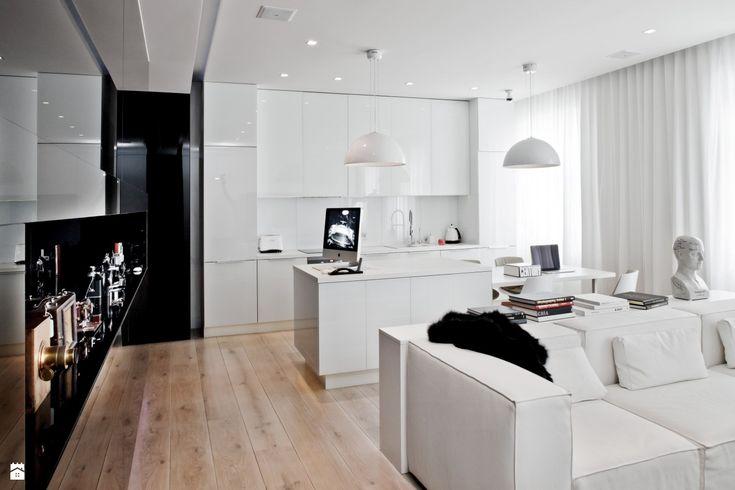 Salon - Styl Nowoczesny - muc&scott interiors