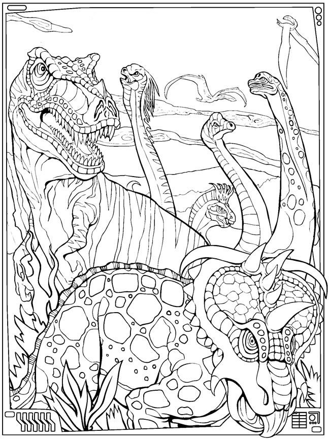 Image by Roachella Marquez on Coloring pages | Dinosaur ...