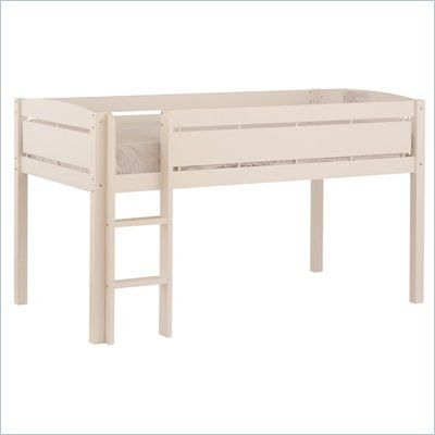 $218.95 Backordered till march Canwood Whistler Junior Loft Bed in White