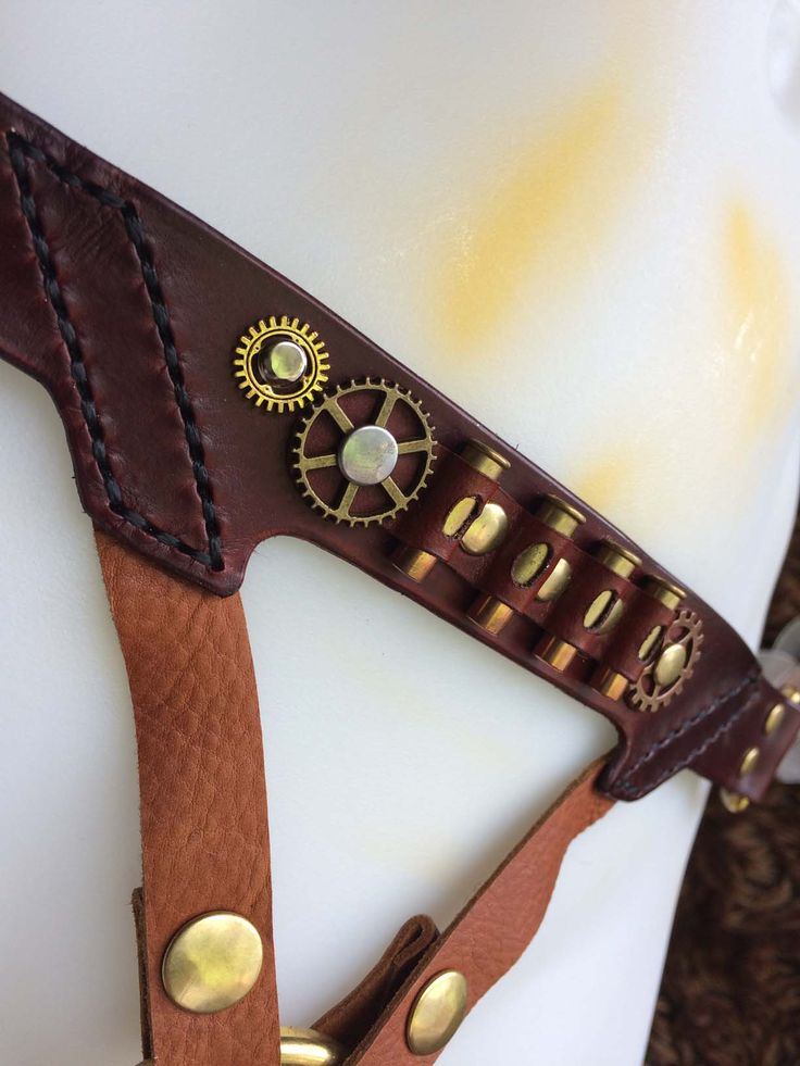Meet the latest addition to our Steampunk strap-on harness range!
