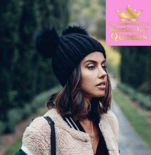 Γυναικείο σκουφάκι στολισμένο με γουνάκια  http://handmadecollectionqueens.com/σκουφακι-στολισμενο-με-γουνακια  #handmade #fashion #beanies #storiesforqueens #women #accessories