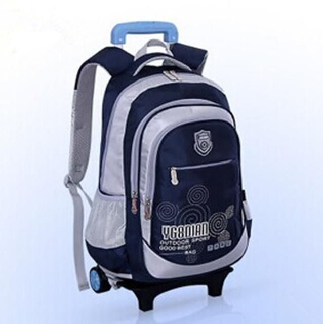 Removable Children Trolley School Bag,backpack with wheels,kids trolley backpack,Rolling high school students Book Bag wheeled