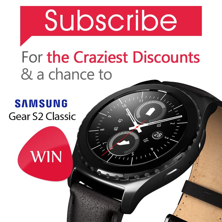 It's December, have you subscribed to our newsletters for a chance to win Samsung Gear S2 Classic? #Newsletters #prize #SamsungGear