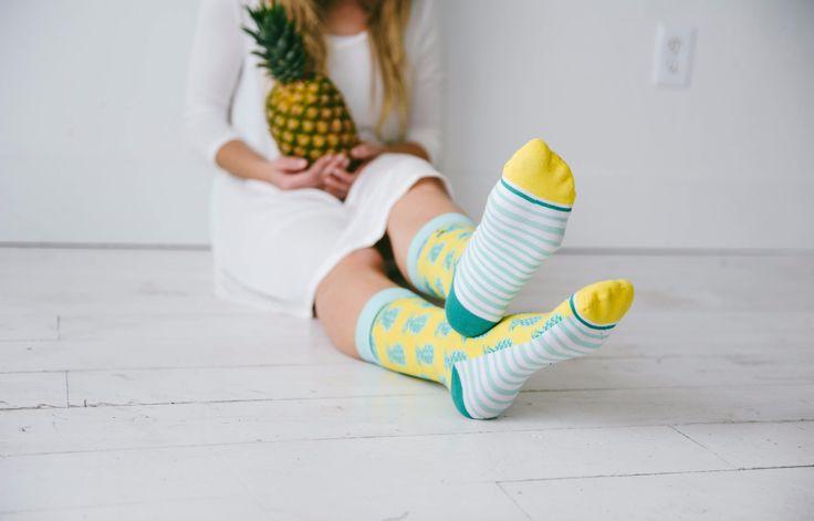 Pineapple Whip Socks