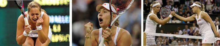 2012's Top Ten Women's Tennis Matches: 3 – Kerber d. Lisicki