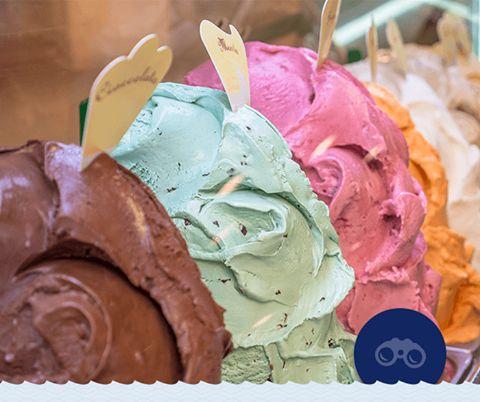 Λέγεται ότι η πρώτη μορφή ιταλικού παγωτού gelato εμφανίστηκε περίπου το 16ο αιώνα στη Φλωρεντία. Ευτυχώς σήμερα μπορεί να το απολαύσει κανείς σε ολόκληρη την Ιταλία!  Did you know that the Italian gelato first appeared during the 16th century in Florence. Luckily today you can enjoy the authentic flavors across Italy!