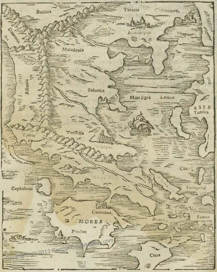 Best Greece Historical Maps Images On Pinterest Greece - Us wildlife map of the 1400s