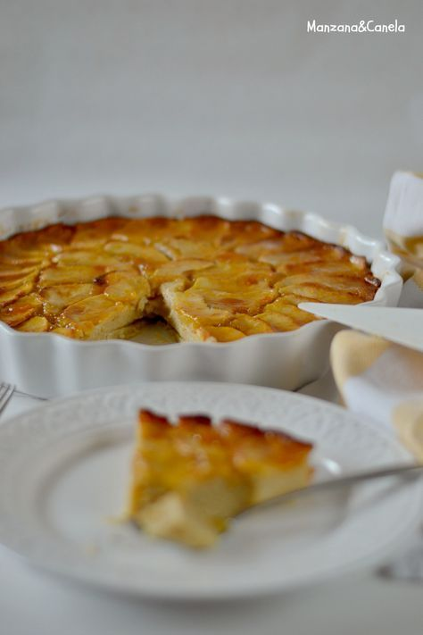 Manzana&Canela : Tarta de manzana rápida