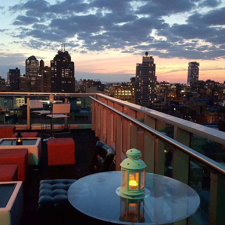 Best Rooftop Bars NYC Outdoor Drinking Patio