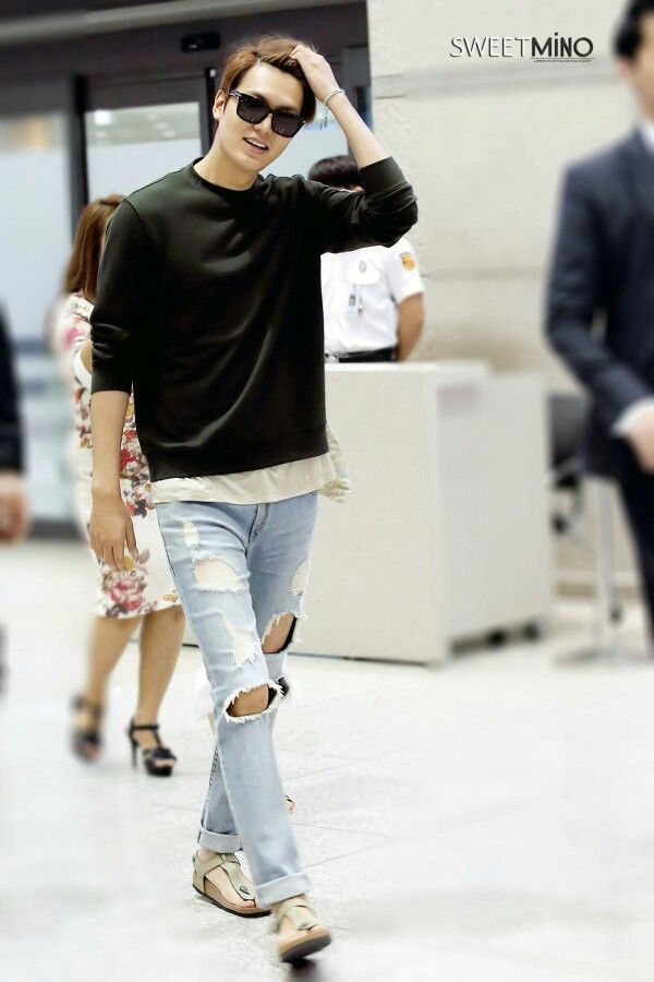 Part 4 In 08 08 2015 Lee Min Ho Go To Airport Back From