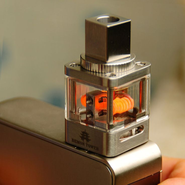 Genuine OUMIER Devil Tower RDA Rebuildable-Vaporizer DIY-Atomizer 316SS Drip - http://www.vapestore.wupples.com/authentic-oumier-demon-tower-rda-rebuildable-vaporizer-diy-atomizer-316ss-drip/