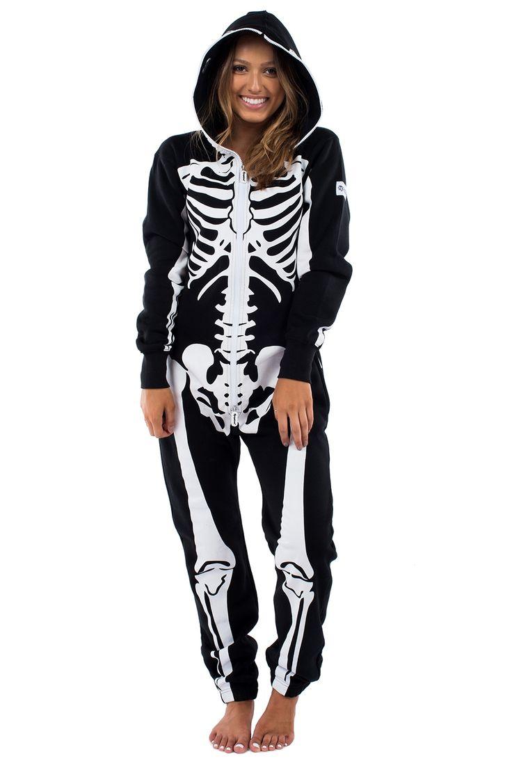 Skeleton Onesie | Skeleton Jumpsuit | Tipsy Elves                                                                                                                                                                                 More
