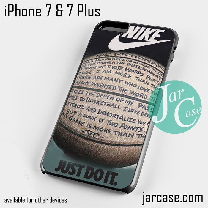 nike basketball quote Phone case for iPhone 7 and 7 Plus https://www.musclesaurus.com