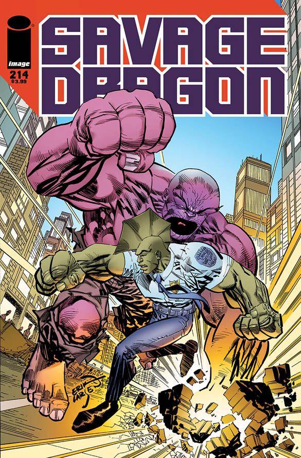 SAVAGE DRAGON #214