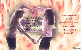 Image result for friendship quotes for girls and boys