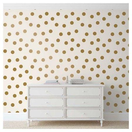 Devine Color Dots Peel & Stick Wallpaper - Karat : Target