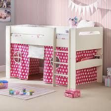 Durable and comfortable novelty/wooden kids bunk beds with free delivery available throughout the UK from Fantasy Furniture. Can be split into single beds.