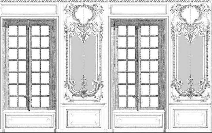 Baroque boasserie of exclusive Palace made to order.