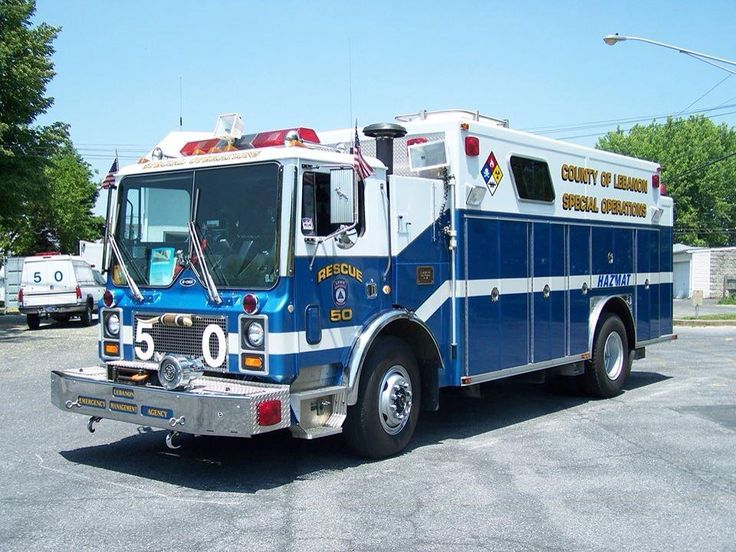Lebanon County, PA Emergency Management Agency Rescue 50