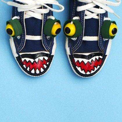 Make Alligator Shoes For Kids