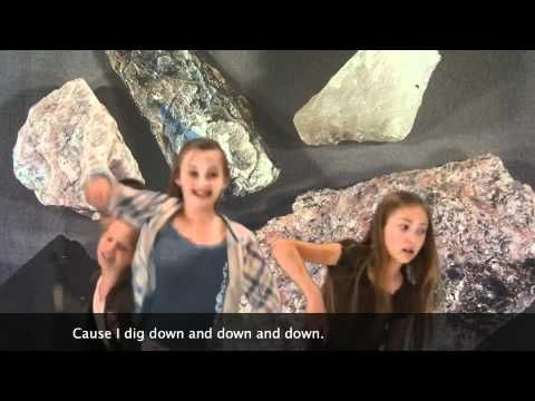 Fourth grade made up a song about rocks and minerals set to Dynamite by Taio Cruz