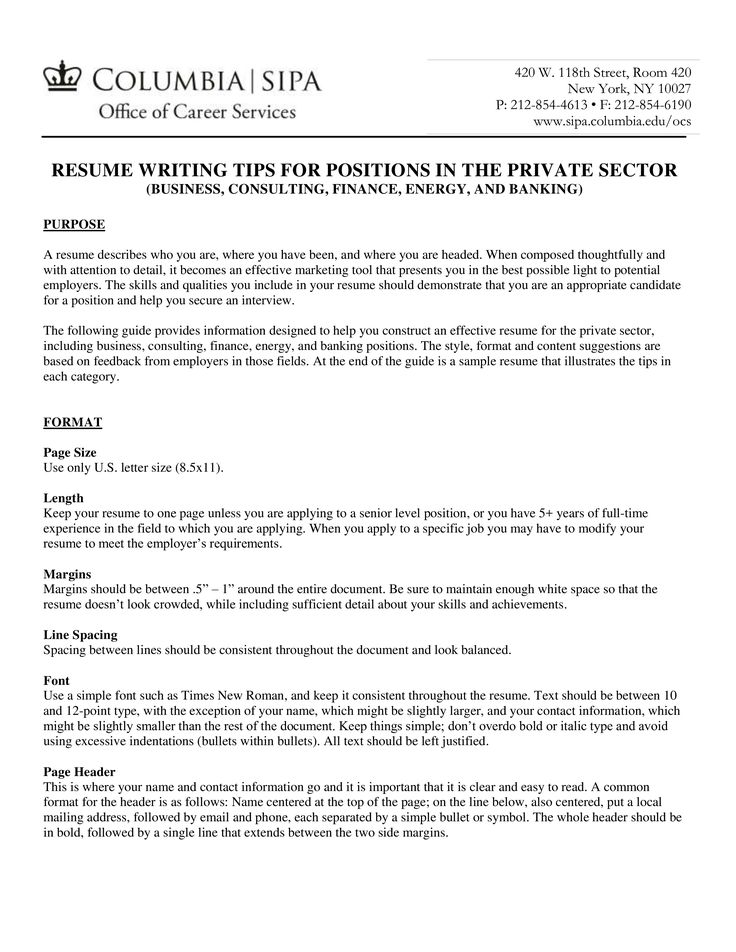 Fresher resume format for bank job how to create a