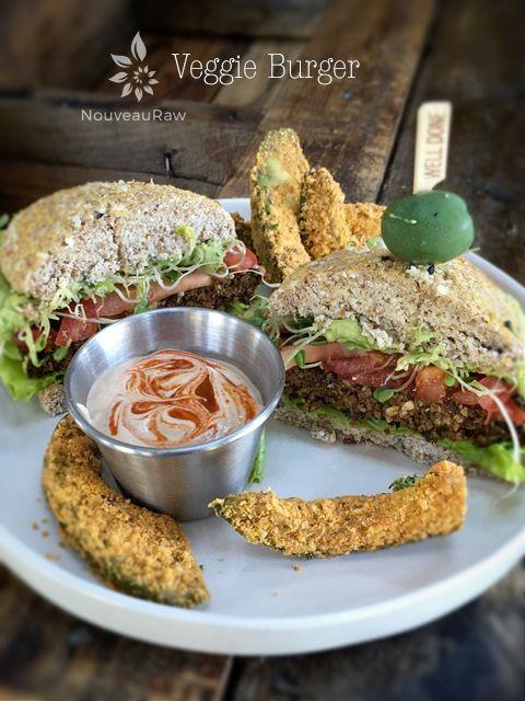 Best Ever Veggie Burger - Raw Food Magazine