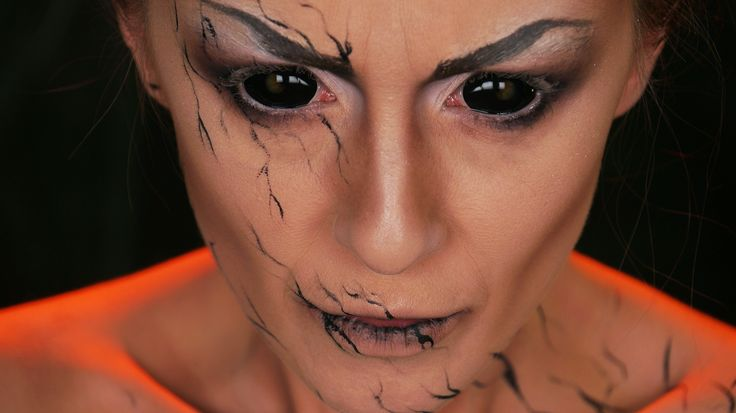 17 best images about halloween makeup on pinterest frankenstein witch makeup and makeup. Black Bedroom Furniture Sets. Home Design Ideas
