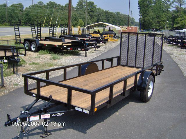 BEST TRAILERS 2014 Down 2 Earth 5x14 utility Macon GA