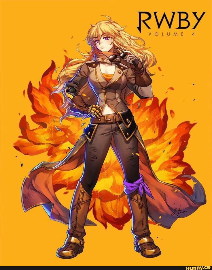 Yang looks so badass in this #rwby
