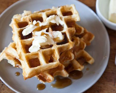 Where to get breakfast waffles in Brisbane