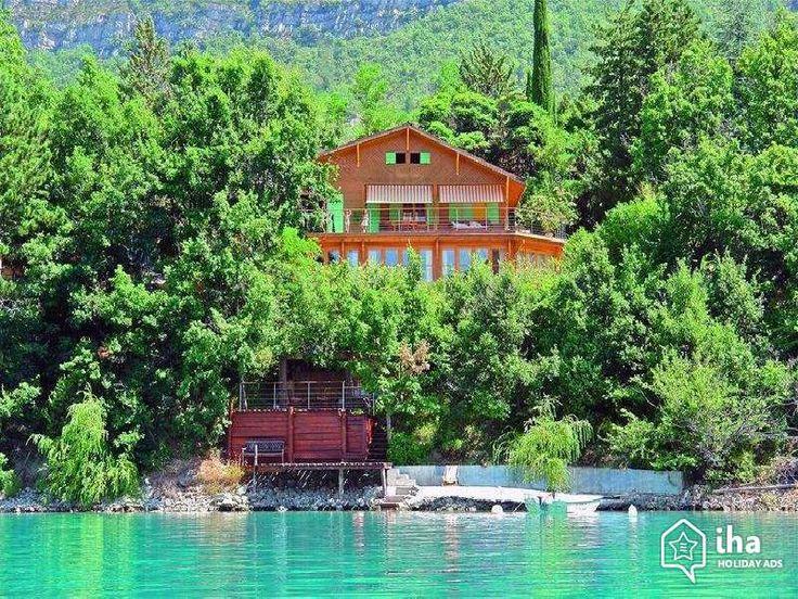 Te huur Saint Julien du Verdon Frankrijk Provencaals Huis, ontdekken 'Le Chalet de l'Imaginaire' Vakantiewoningen van 1 tot 6 Persoon N°52814 IHA : wifi