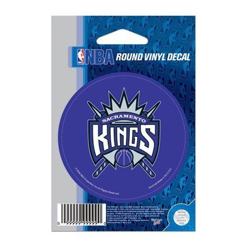Sacramento Kings NBA Basketball Car Bumper Sticker 3 x 3