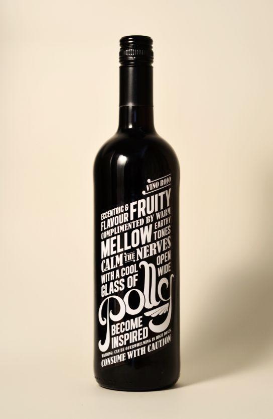 Polly!Bottle Labels, Wine Labels, Bottle Packaging, Packaging Design, Graphics Design, Packaging Inspiration, Wine Bottle, Bottle Design, Labels Design