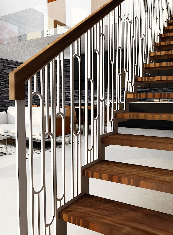 Best Gorgeous Retro Style Balustrade By Design Weld 400 x 300
