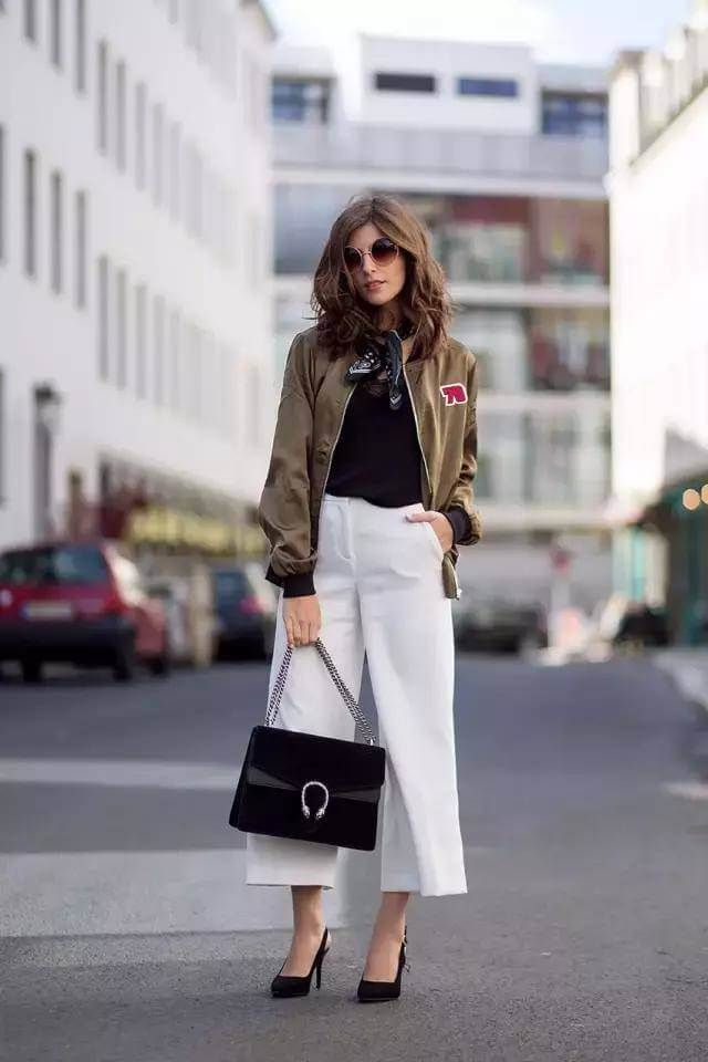 fee1d836b 8 Styling Tips to Dress up a Bomber Jacket | how Dress up a Bomber ...