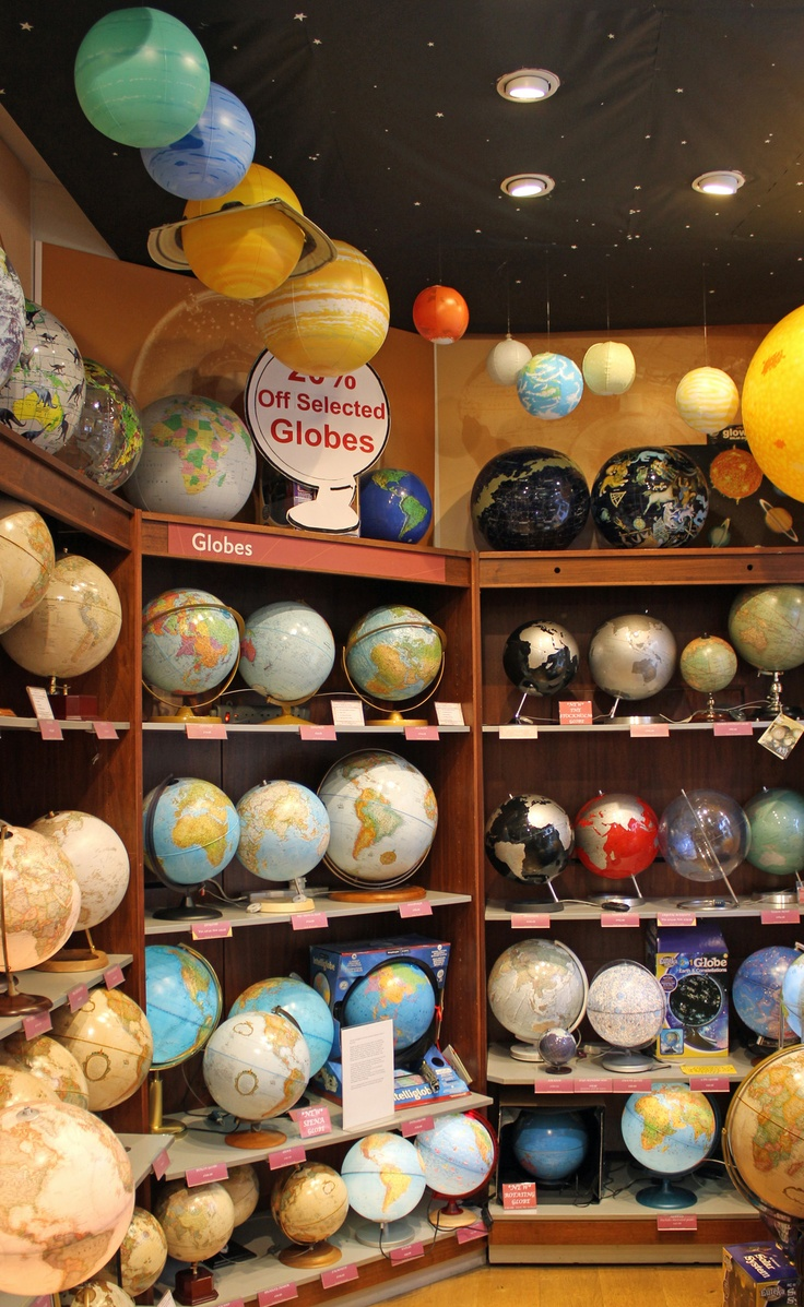 Our latest globes range - see more at http://www.stanfords.co.uk/Our-Products/Globes.htm.