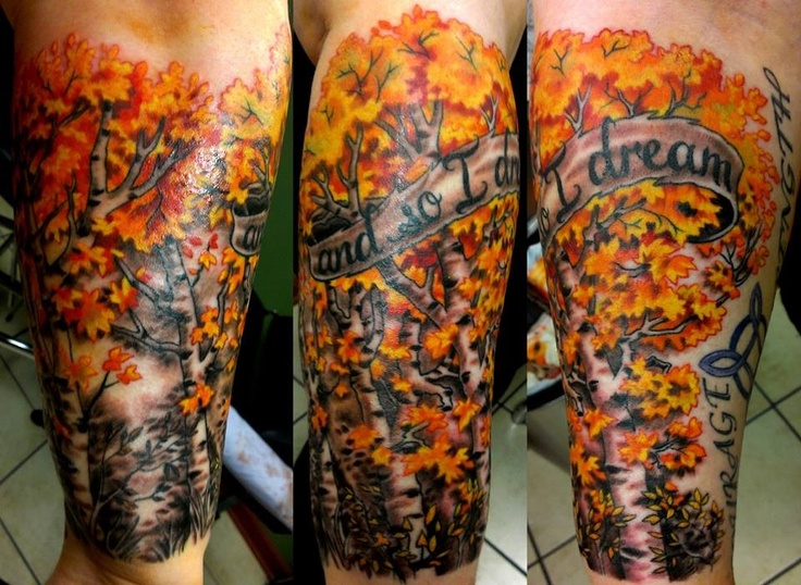 my newest tattoo gorgeous birch trees tat pinterest trees birches and tattoos and body art. Black Bedroom Furniture Sets. Home Design Ideas