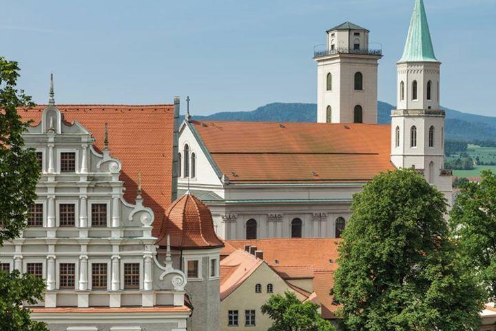 Old monastery with church St.Johannis. #StadtZittau