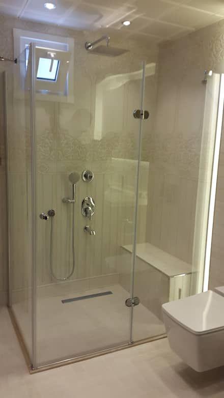 MRV YAPI MİMARLIK – Ayşe KORKMAZ Banyo Dekorasyonu (Bahçelievler): eklektik tarz tarz Banyo