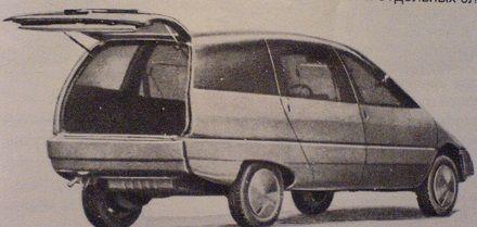 Автомобиль Охта