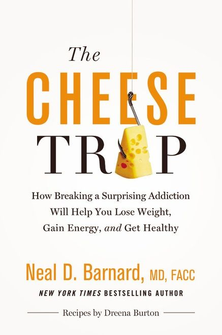 """News! I've developed recipes for the NEW book """"The Cheese Trap"""" by Dr. Neal Barnard! You can preorder now. Barnard - #vegan"""
