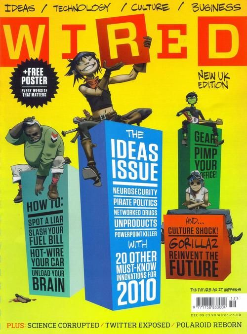 WIRED Magazine - Gorillaz