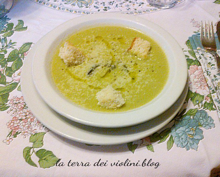 Crema di asparagi,  una vellutata primaverile