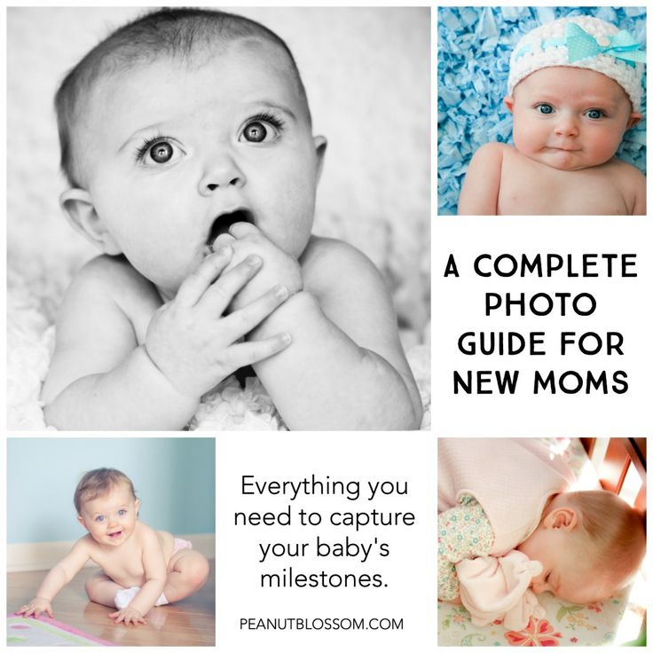 Baby photography guide for new moms