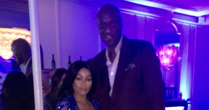 Keeping Up with the Exes: Blac Chyna Reunites with Baby Daddy Tyga and Poses with Lamar Odom