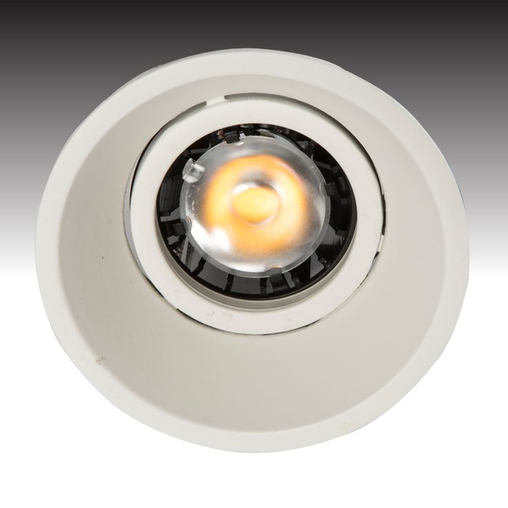 The recessed fixed PURE-LED downlight with the ASTROPLUS-LED - from Photec Lighting