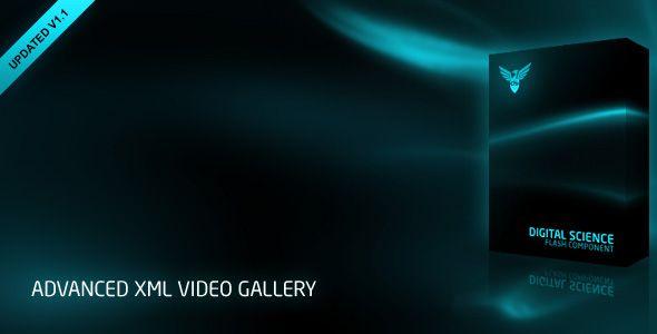 Advanced XML Video Gallery